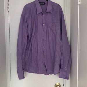 Men's Linen Button Up Vilebrequin